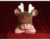 Reindeer hat.