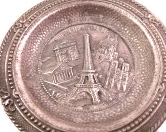 French Monument Ashtray, Home Decor, Souvenir