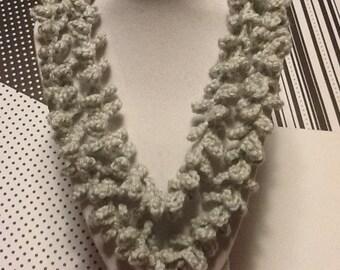 Spiral/Handmade Crochet Necklace