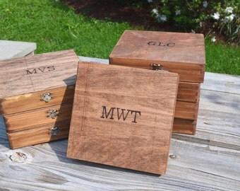 8 Custom Cigar Box/Letter Box/Keepsake Box