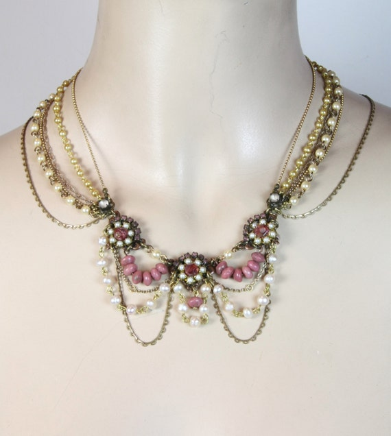 Indiangoldesigns Com Beautiful Antique Bridal Necklace: Items Similar To Bridal Necklace,Victorian Wedding Jewelry