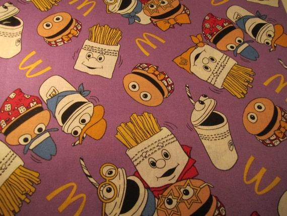 Ronald McDonald Fabric 1 yard