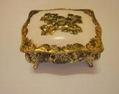 Vintage Art Nouveau Jewelry Box Casket