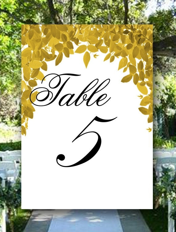 Garden Wedding Table Numbers, Your Custom Color, Event Table Numbers, Bridal Shower Table Numbers, Wedding Place Cards