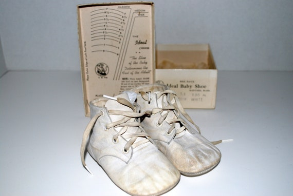 Baby Shoes Vintage Mrs Day S Ideal Baby Shoes