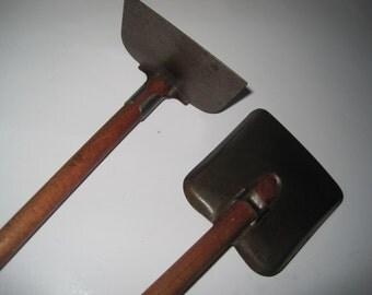 1950s Vintage Toys - Children Shovel and Hoe