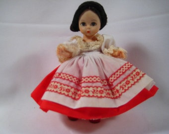 "Madame Alexander ""Russia"" 8"" Doll"