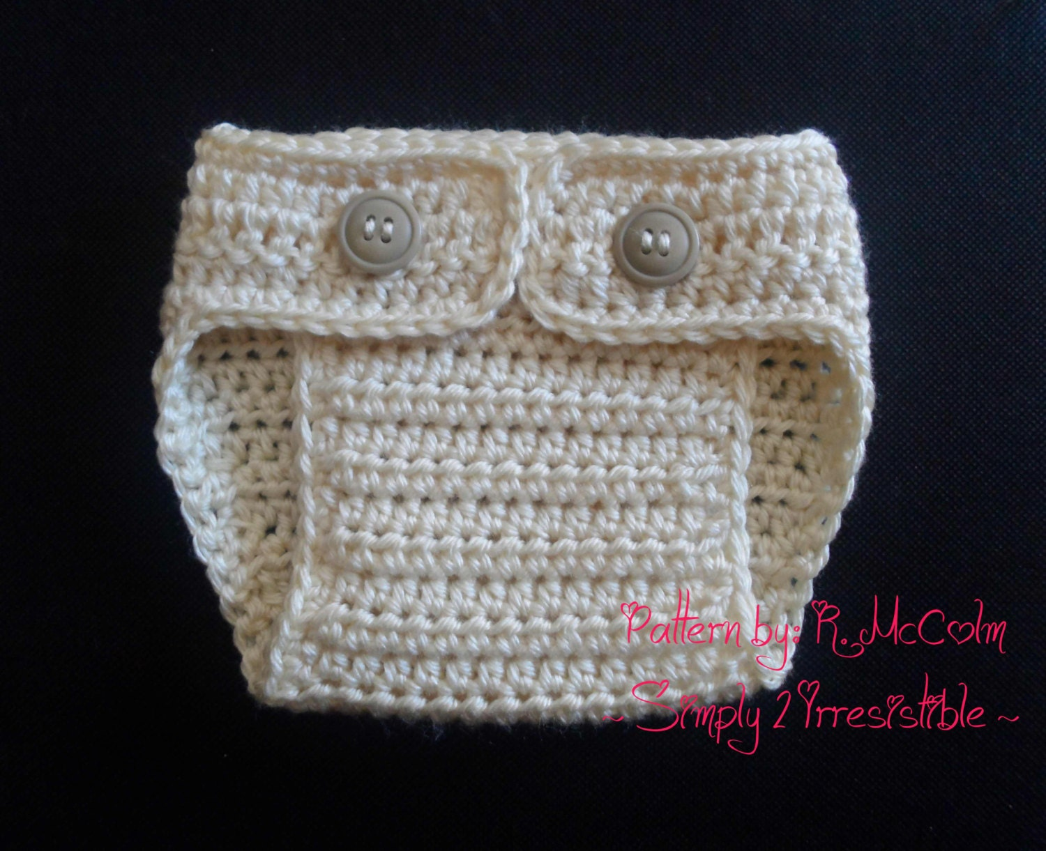 Crochet Pattern Diaper Cover ~ Dancox for .