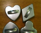 Set of Four Playing Card Suits Tin Cookie Cutters