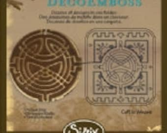 Sizzix DecoEmboss Die - Celtic Weave by Vintaj - NEW DESIGN