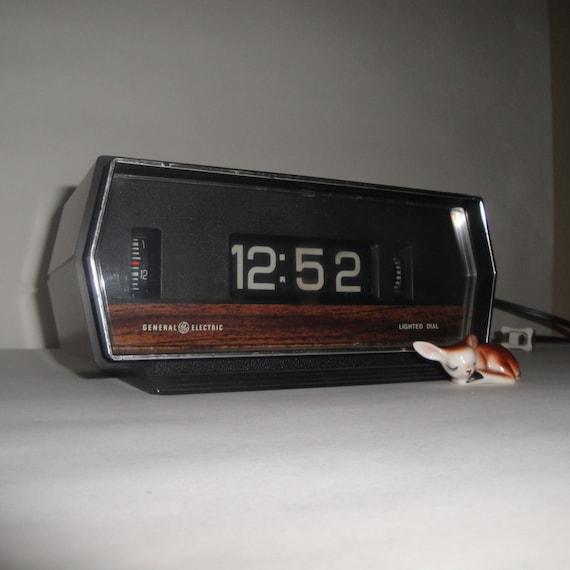 Rolling Clock General Electric Alarm Clock
