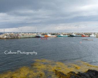 Fishing boats - digital photography