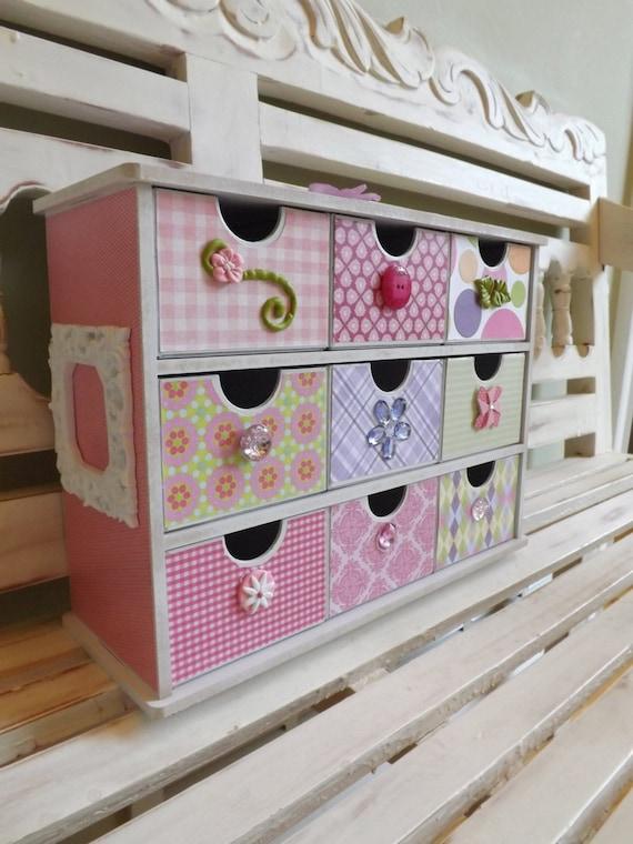 Items Similar To Jewelry Box Organizer Girly Baby Trinkets