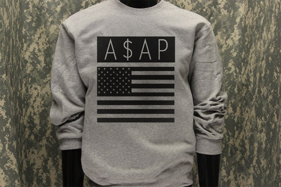 Vsvp Sweater Asap Crew Neck Sweatsh...
