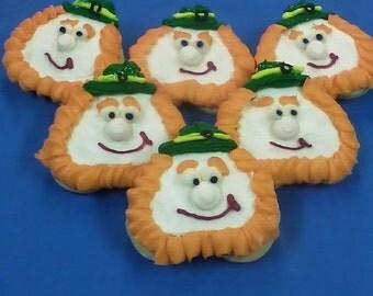 St. Patrick's Day LEPRECHAUN Iced Sugar Cookies