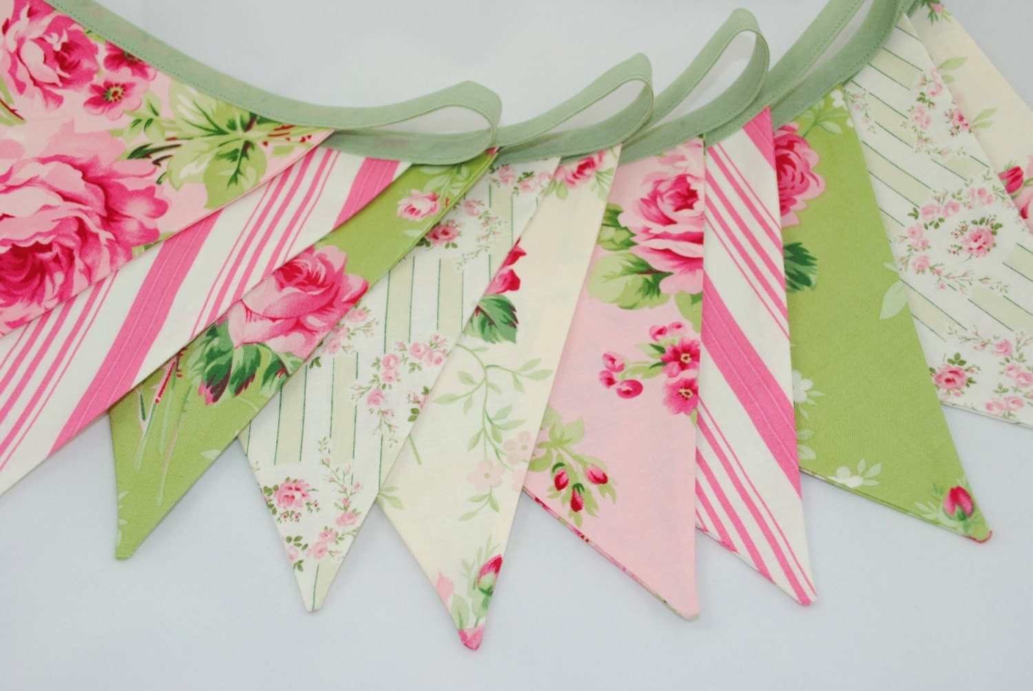 shabby chic bunting - photo #16