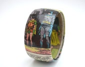 BATMAN and ROBIN Comic Book Bangle Bracelet
