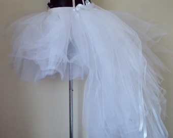 White Tutu Skirt Burlesque Bridal  U.S.2 4 6 8 U.K.6 8 10 12