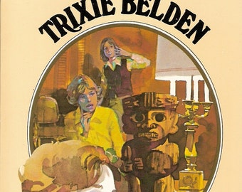 TRIXIE BELDEN 18 Vintage Mystery Book Lot KENNY / CAMPBELL Oval Cover Art 1970's