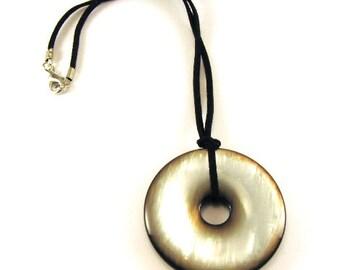 SALE Vintage Handmade necklace with fashion pendant elegant