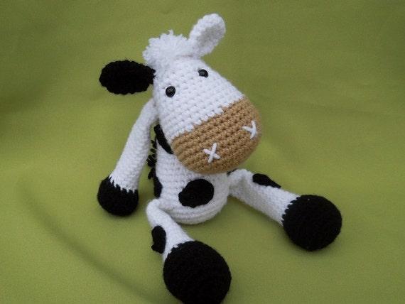 Tutorial Vaca Amigurumi Cow : My Friend Cow Matylda - Amigurumi Crochet Pattern / PDF e ...