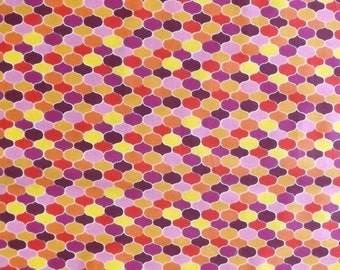 Daisy Janie Fabrics - Certified Organic Cotton - New Leaf by Jan DiCintio Collection  -  Jewels (F-12JWL) - 1 yard