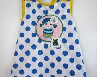 KOLYA pinafore dress/tunic AIMEE - reversible