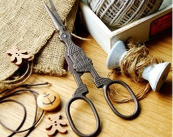 Vintage Scissors Sewing Supplies DIY Manual Yarn Cut Thread Scissors-Church