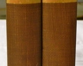 RESERVED SALE 30% OFF Works by George Eliot Poems Volume I and Ii