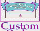 Lisa Custom Order