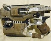 Large Steam Punk Pistol Diesel Punk Dart Gun