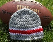 Ohio State baby hat