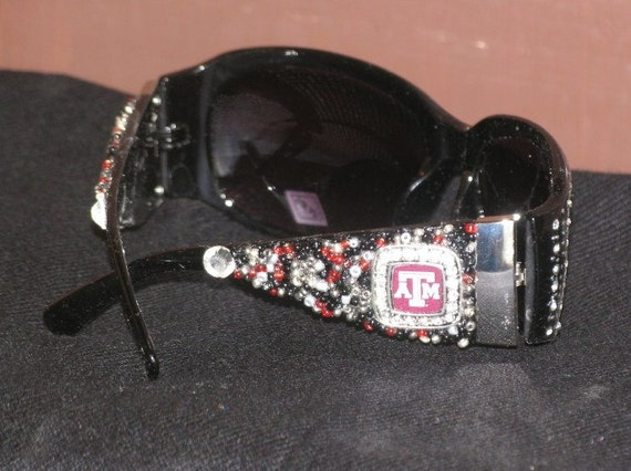 Reserved for Terri - TEXAS A & M  Sunglasses   - Embellished