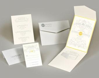 Wedding Invitations - Rachel Colection