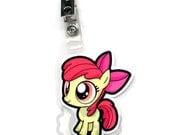 Apple Bloom Chibi Badge