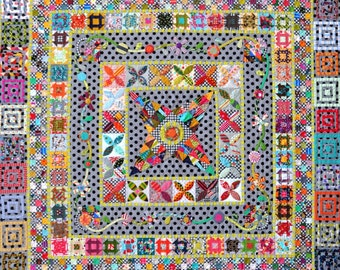 PRE-ORDER Midnight at the Oasis Quilt Pattern by Jen Kingwell Designs