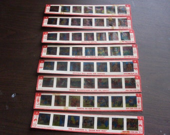 Vintage Kenner's Give A Show Color Slides 1960 Set of 8
