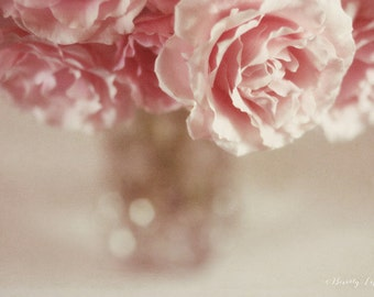pink, roses, flowers, romantic, fine art photography