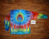 Long Sleeve Rainbow Spider Spiral with Blue Blades 04398 XXL