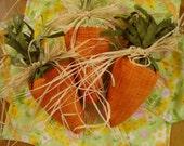 Bunny Food Carrots Easter Spring Decor Bowl Filler Ornie