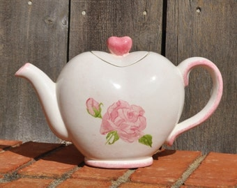 Heart Shaped Tea Pot