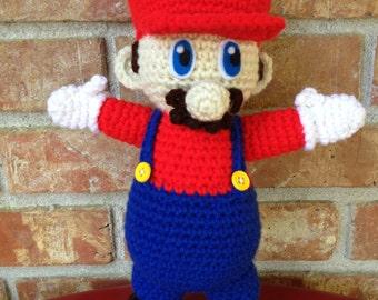 Crochet Nintendo Mario