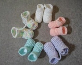 Cute Mini Baby Bootie Keychain...