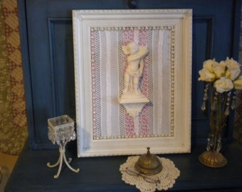 SALE......Upcyled Wall Decor,Shabby Chic,French,French Country,Baby's Room