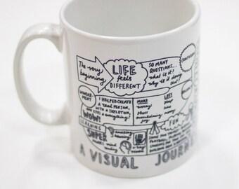 A Visual Journey Through Fatherhood - Mug