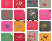 Comfort Colors Brand State Love Monogrammed Unisex/Mens Style Tank