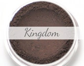 "Eyeshadow Sample - ""Kingdom"" - matte blackened plum (Vegan) Mineral Makeup Eye Color Pigment"