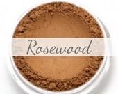 "Eyeshadow Sample - ""Rosewood"" - medium warm toned brown/tan color with matte finish (Vegan) Mineral Makeup Eye Color Pigment"