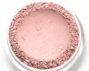 "Matte Light Pink Eyeshadow - ""Tulle"" - Vegan Mineral Eyeshadow Net Wt 2g Mineral Makeup Pigment"