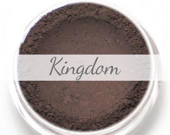 "Eyeshadow Sample - ""Kingdom"" - matte blackened plum (Vegan) Mineral Makeup Eye Color Pigment"